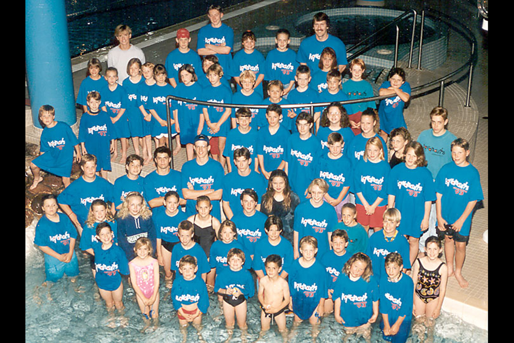 1993 Lloydminster Aquanaut Team Photo