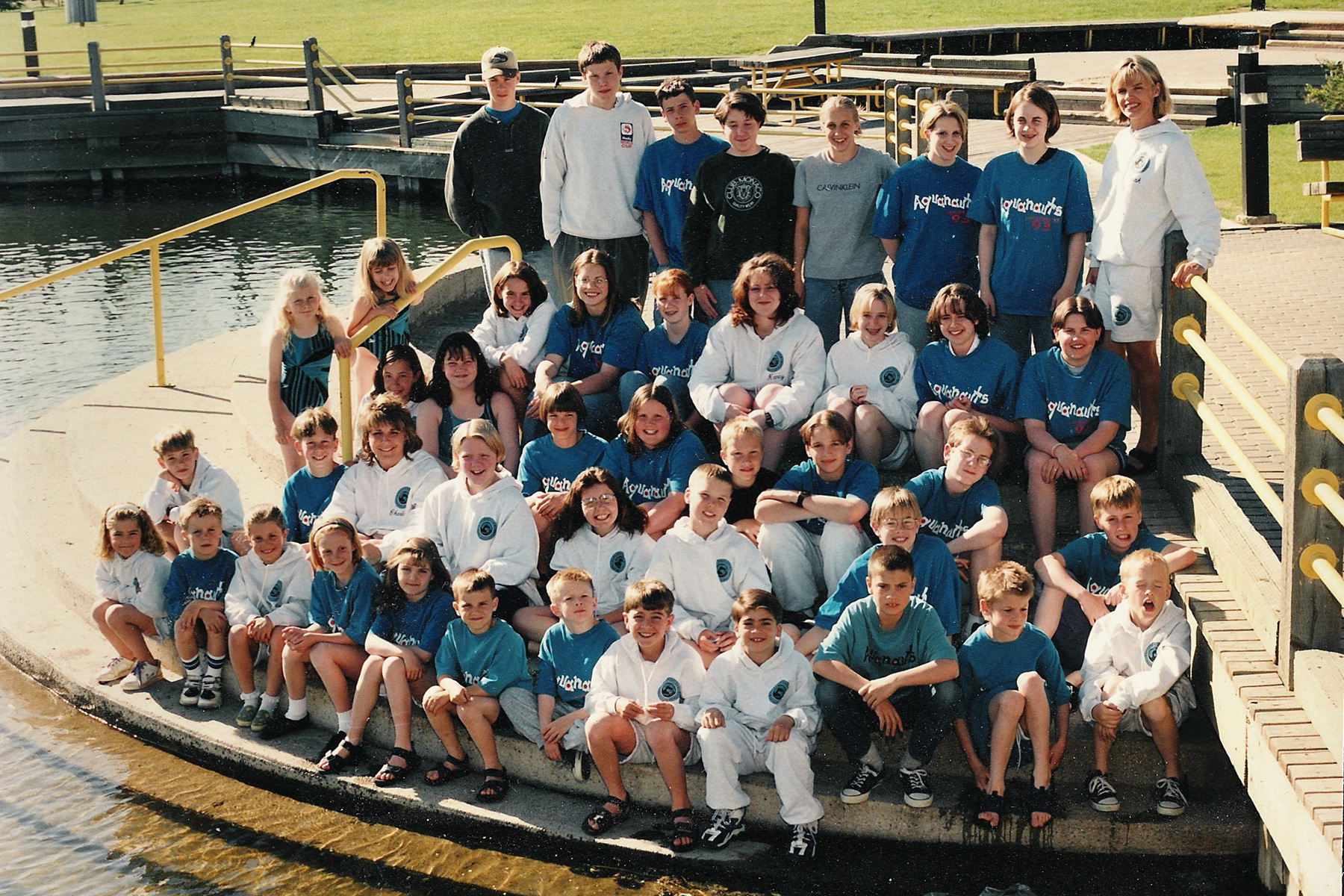 1996 Lloydminster Aquanaut Team Photo