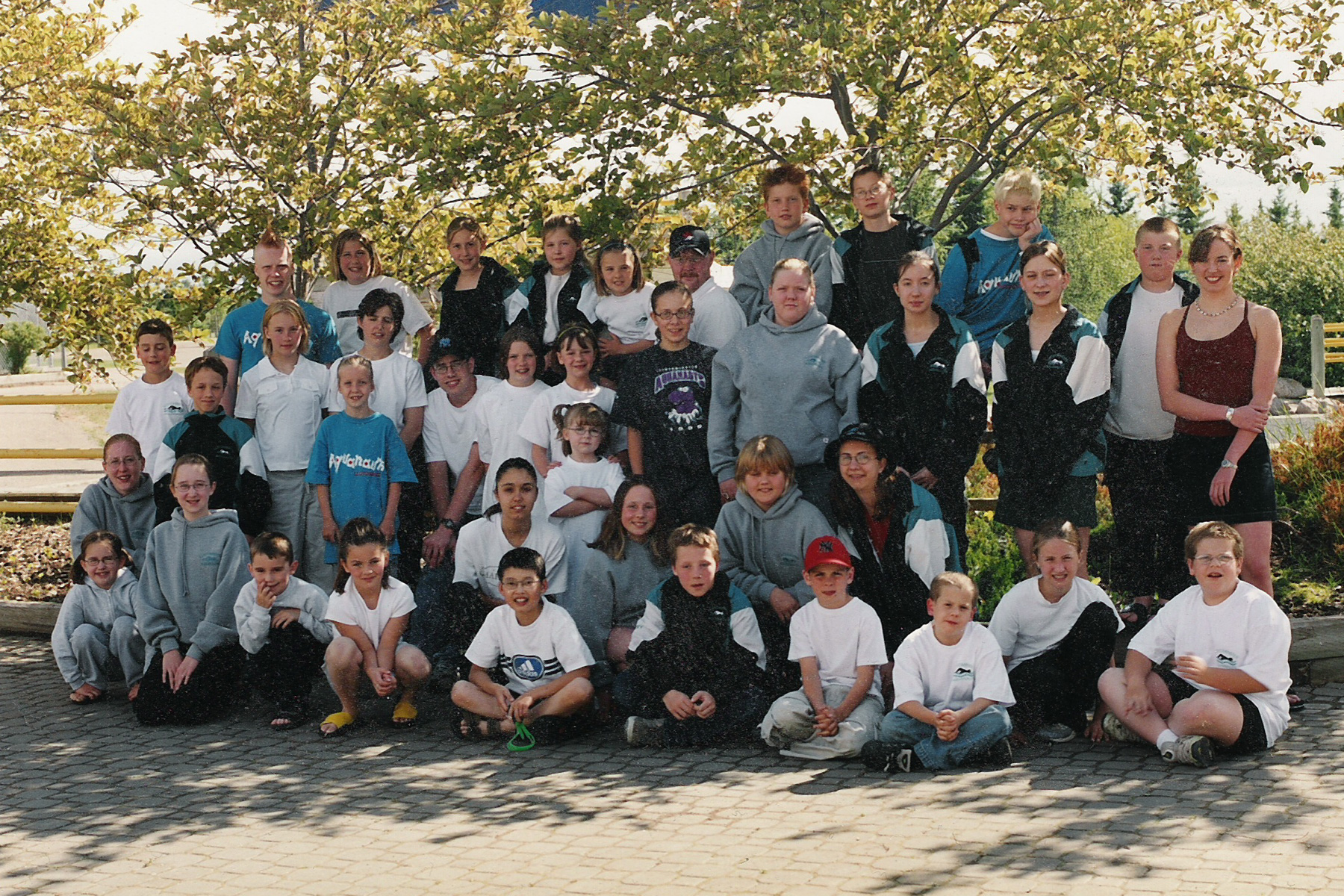 2001 Lloydminster Aquanaut Team Photo