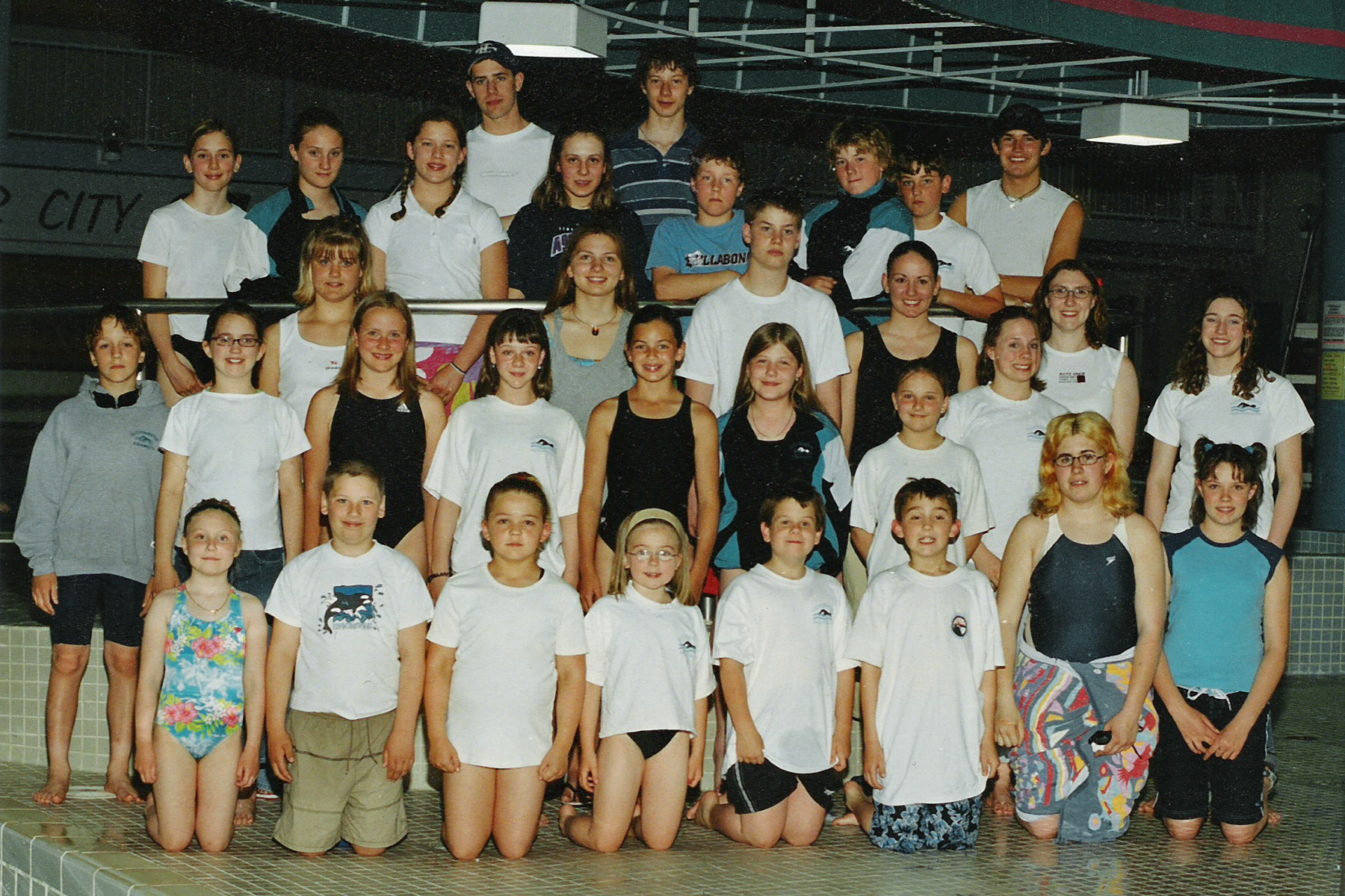 2003 Lloydminster Aquanaut Team Photo
